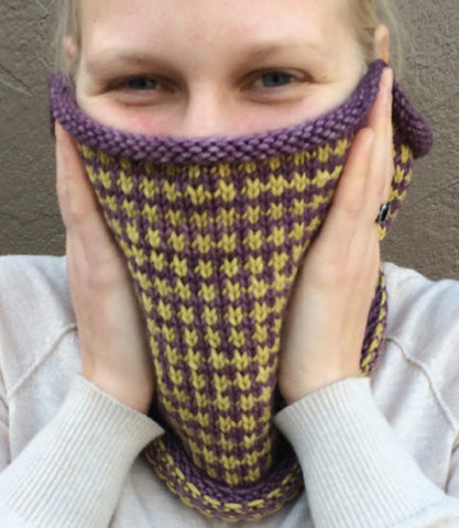 Blueberry Cheesecake Cowl