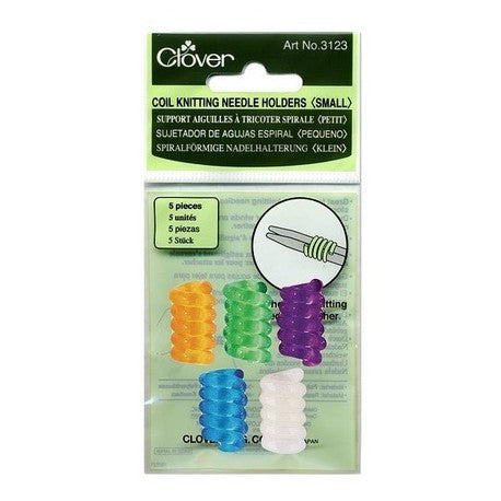 Clover 3123 Coil Knitting Needle Holder, Small