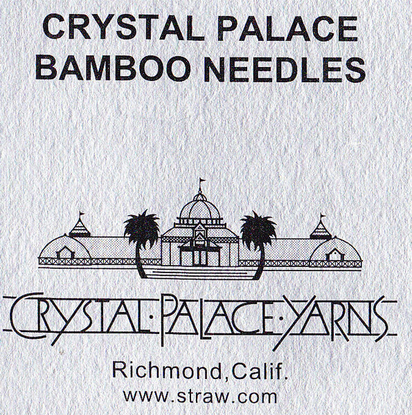 Crystal Palace Straight Needles