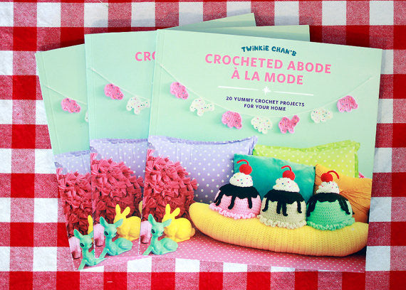Crocheted Abode a la Mode by Twinkie Chan (Autographed!)