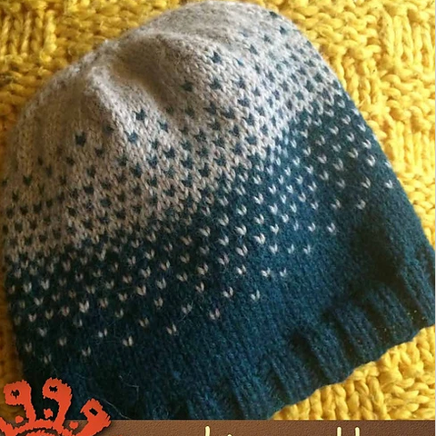 Easy Ombre Slouch Hat Free PDF Download