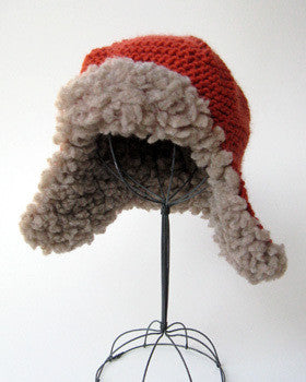 Fleeced Earflap Hat by Cocoknits