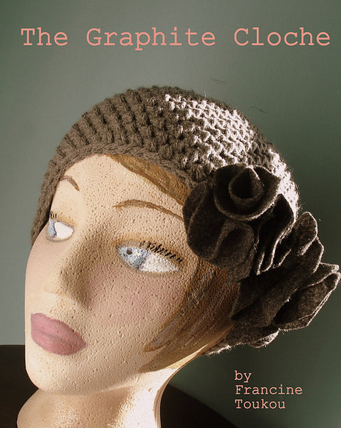 Graphite Cloche by Francine Toukou