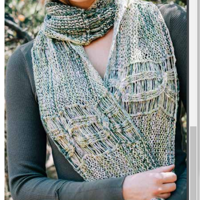 Fallen Leaf Scarf Kit