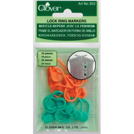 Clover 353 Locking Stitch Markers