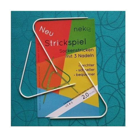 Neko 6220 Curved Double Point Needles