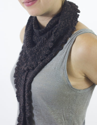 Nora Bobble Scarf by Cocoknits