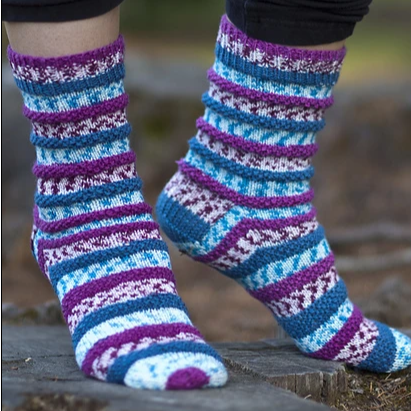 Popp'in Print Socks Free PDF Download