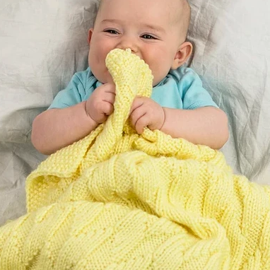 Ripples Baby Blanket Free PDF Download