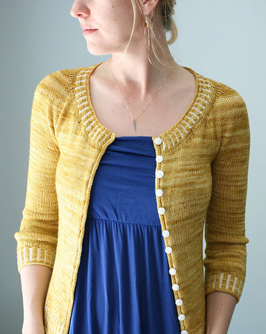 Safrani Cardigan by The Yarniad