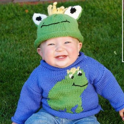Frog Sweater and Hat Free PDF Download