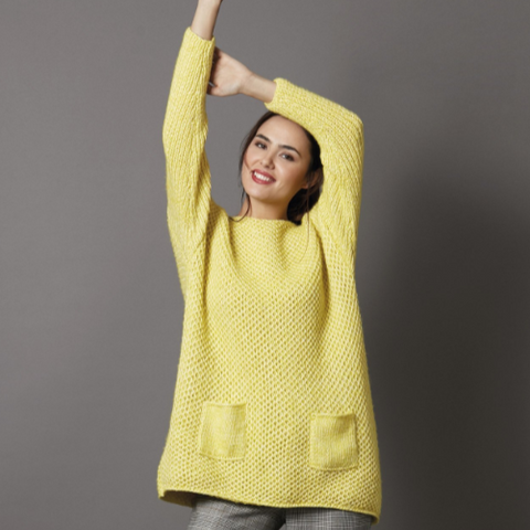 Wide Jumper with Pockets Kit