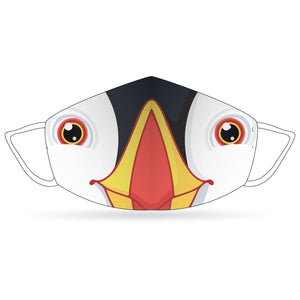 Stitch 4P Face Mask - Puffins