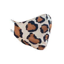 Load image into Gallery viewer, Stitch 4P Face Mask - Leopard