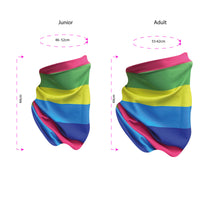 Load image into Gallery viewer, Stitch Snood - Rainbows - £1 will go to NHS Charities Together