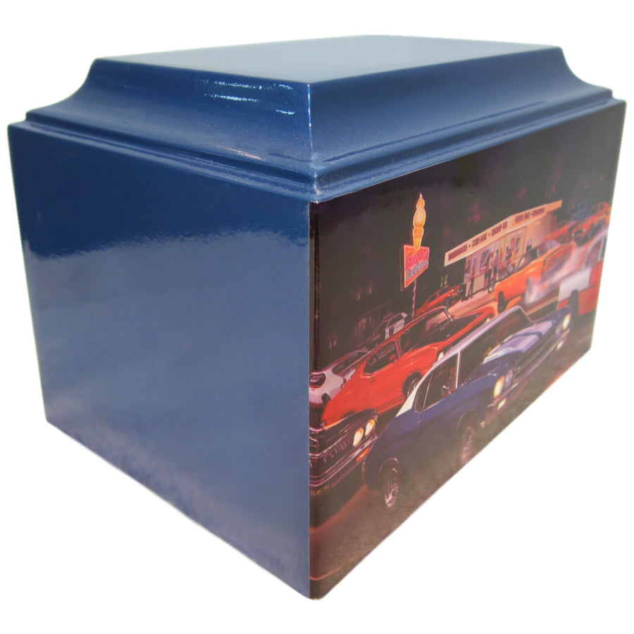 Classic Muscle Car Fiberglass Box Cremation Urn - 201