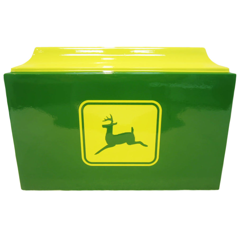 Green & Yellow John Deere Fiberglass Box Cremation Urn - 510
