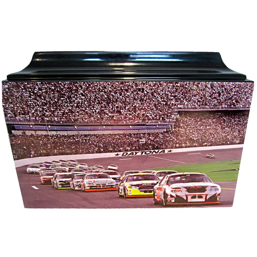 NASCAR Racing Fibergalss Box Cremation Urn - 204