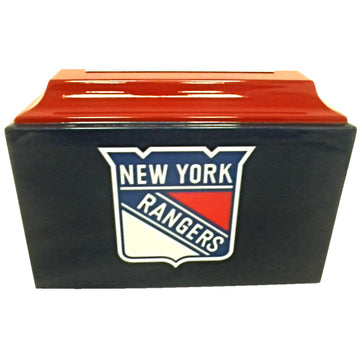 Rangers Hockey Fiberglass Box Cremation Urn - 113