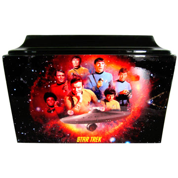 Star Trek Fiberglass Box Cremation Urn - 801