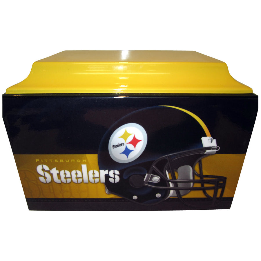 Pittsburg Steelers Football Fiberglass Box Cremation Urn - 112