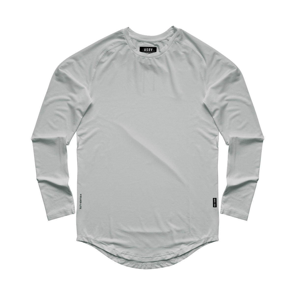 0149. Silver-Lite® Long Sleeve - Light Grey