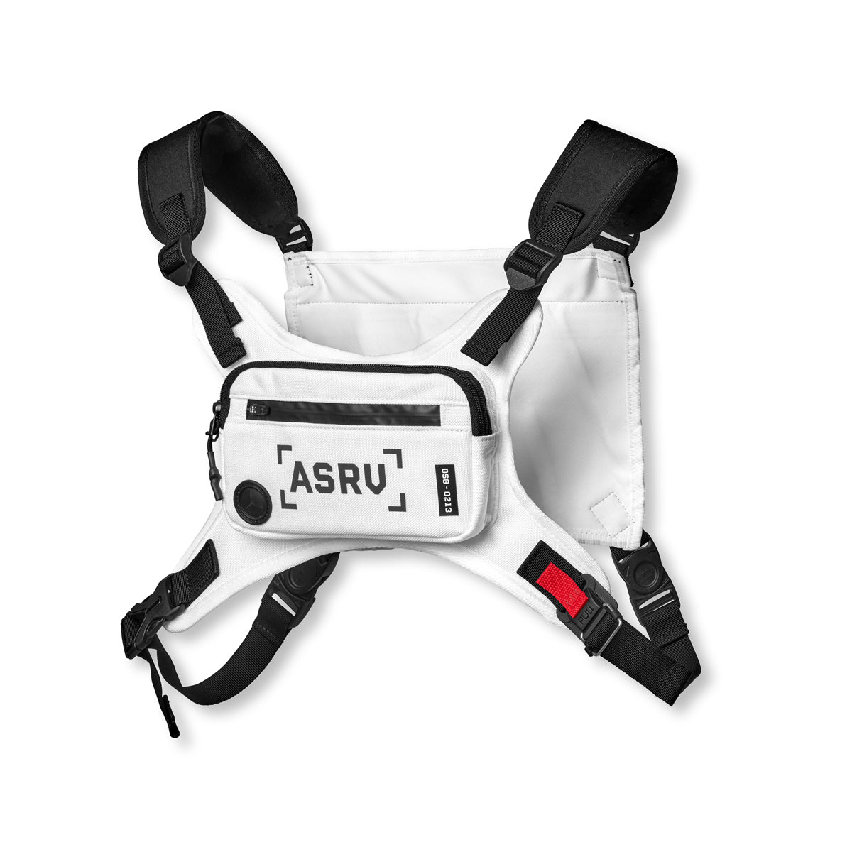 0213. Waterproof Cordura® Conditioning Chest Pack - White