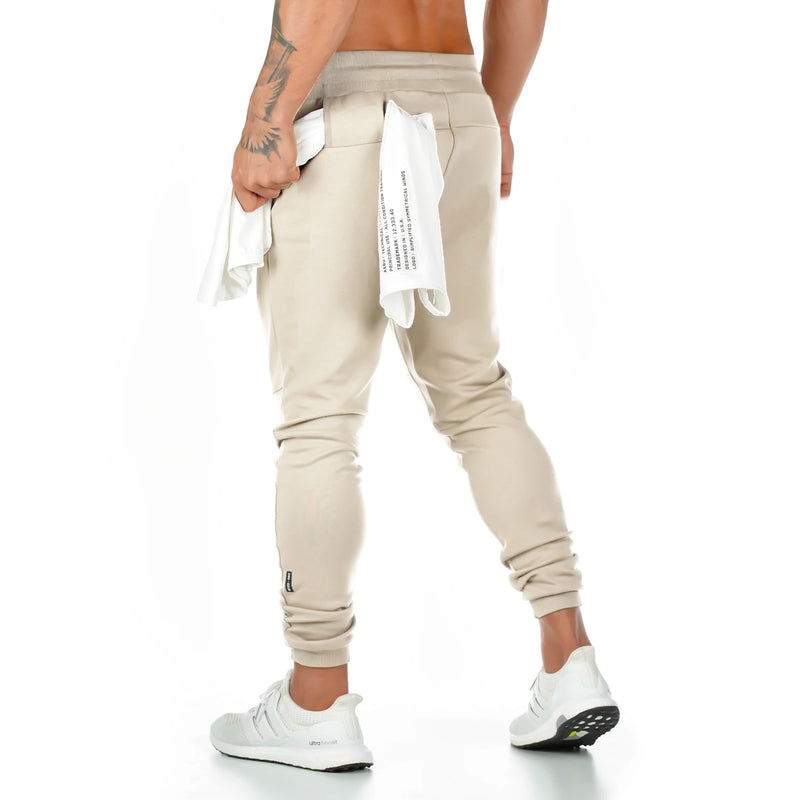 0218. Signature Utility Jogger - Off-White