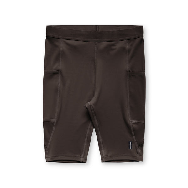 0286. Reflexx® Side Pocket Performance Short - Dark Earth