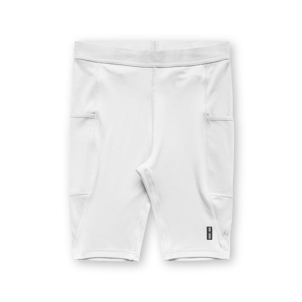0286. Reflexx® Side Pocket Performance Short - White