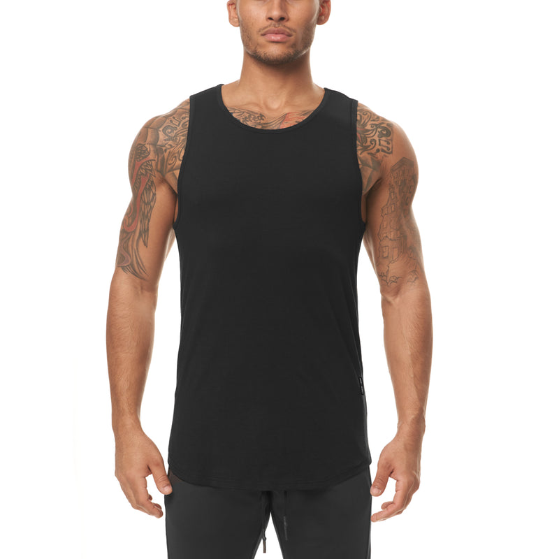 0397. Supima® Tank Top - Black