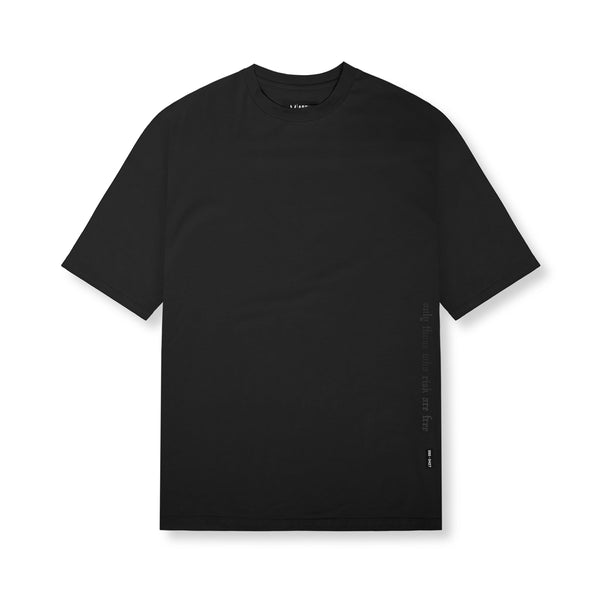 0427. Supima® Oversized Tee - Black