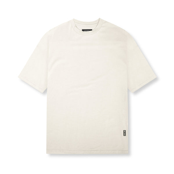 0427. Supima® Oversized Tee - Ivory Cream