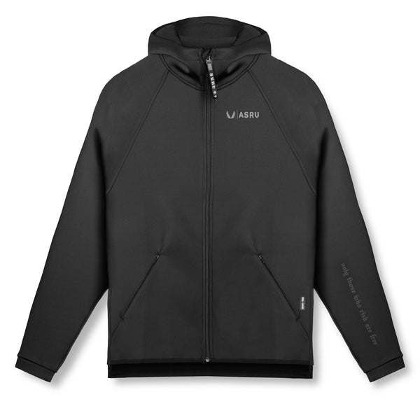 0430. Coolever™ Full Zip Hoodie - Black
