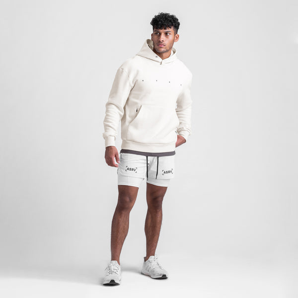 0438. RainPlus™ All Season Warm-Up Hoodie - Ivory Cream