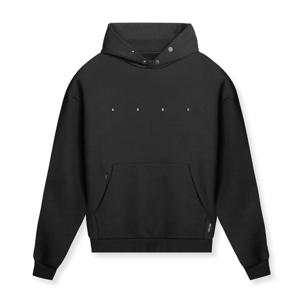 0438. RainPlus™ All Season Warm-Up Hoodie - Black