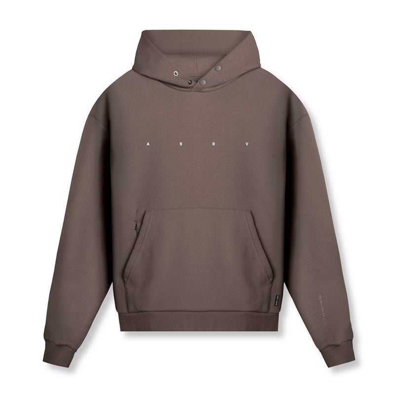 0438. RainPlus™ All Season Warm-Up Hoodie - Deep Taupe