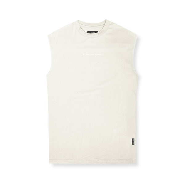 0439. Supima® Oversized Cutoff - Ivory Cream