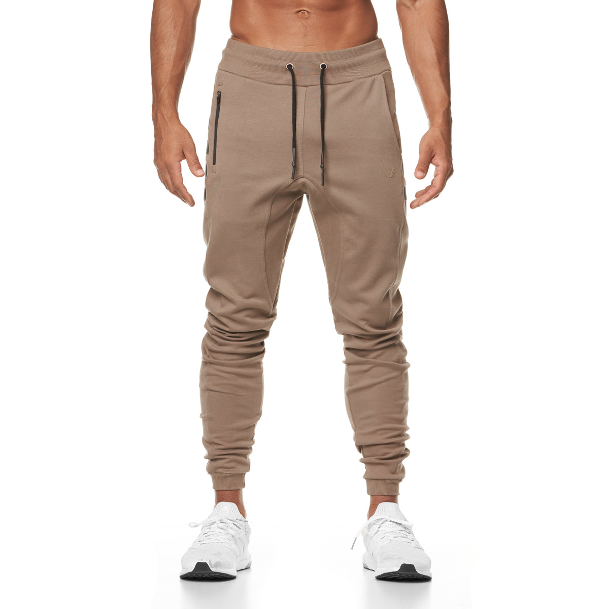 0389. Signature MOLLE Jogger - Greige