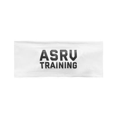 "0249. Silver-Lite® ""ASRV Training"" Headband - White"