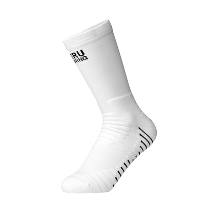 Performance Crew Socks - White