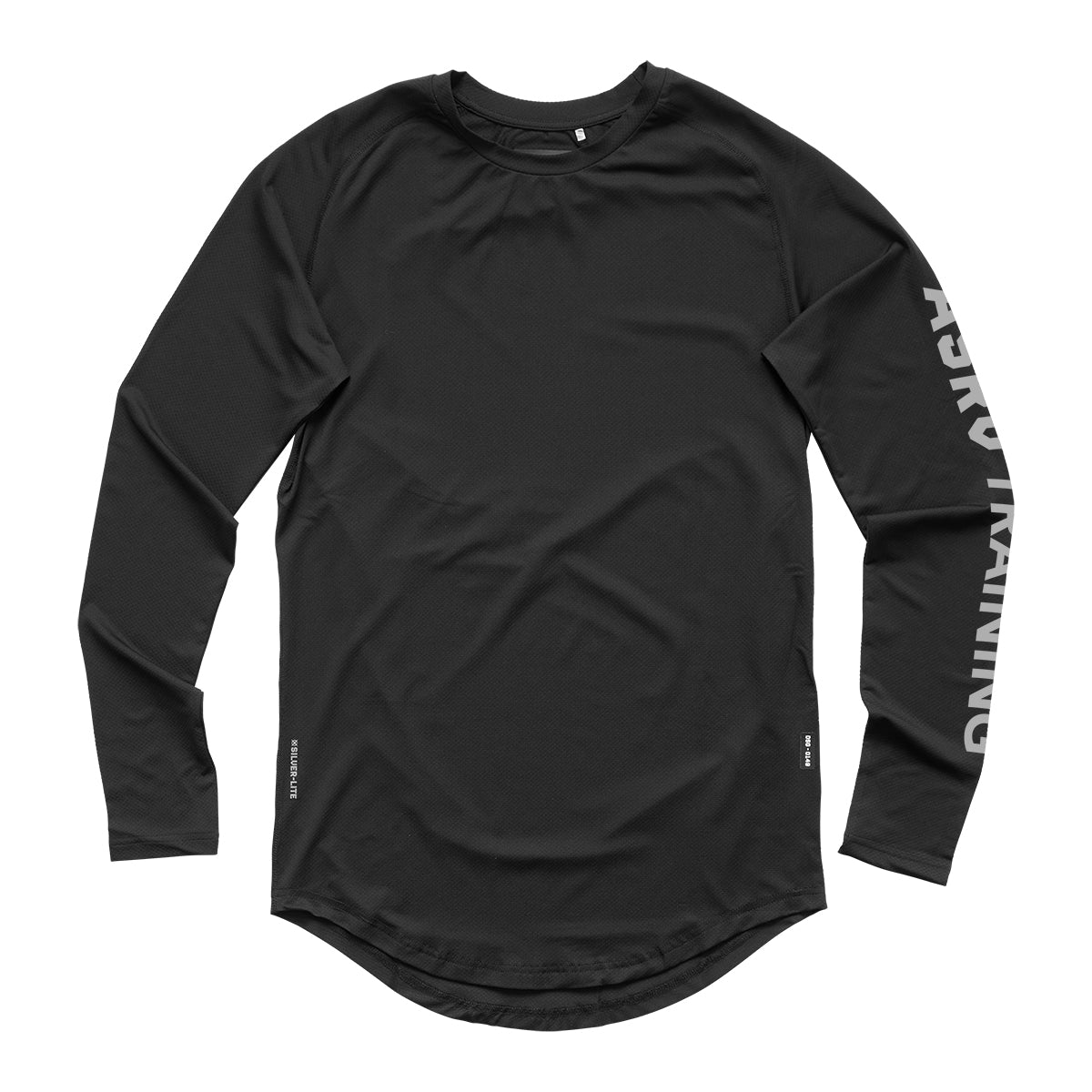 0205. Silver-Lite® Logo Long Sleeve - Black