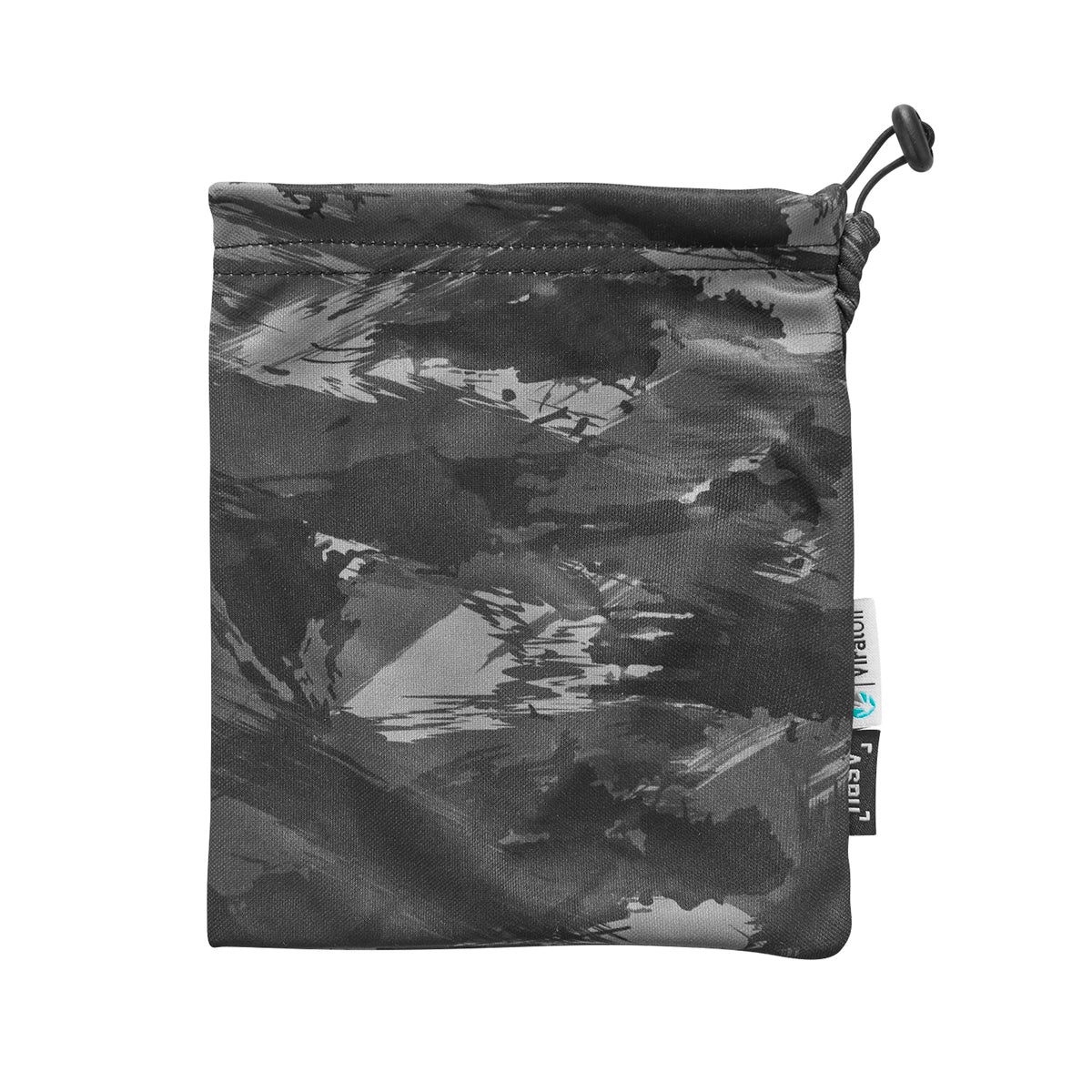 0383. ViralOff® Form-Fitting Face Mask (2 Pack with Bag) - Black Brushed Camo