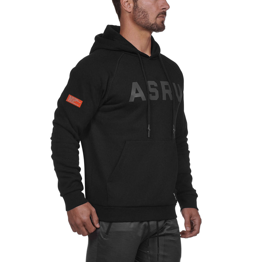 0173. RainPlus™ Essential Fleece Hoodie - Black