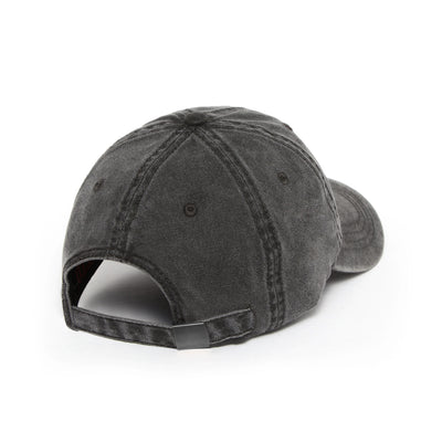 "Garment-Dyed ""Relentless Pursuit"" Hat - Faded Grey/White"