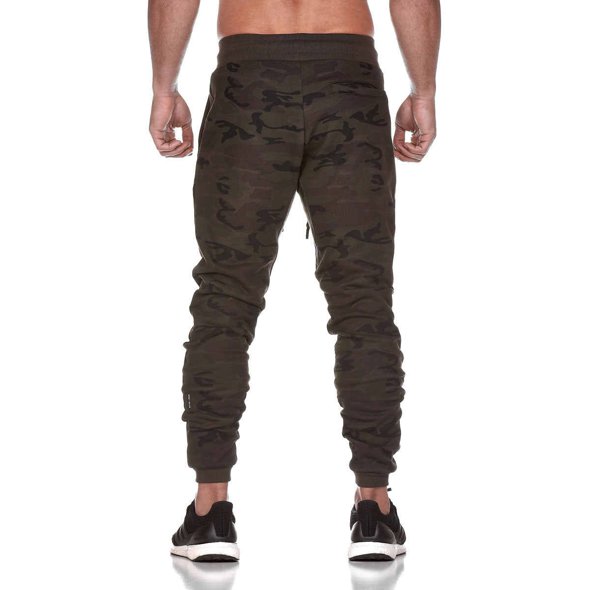 0172. RainPlus™ Essential Fleece Jogger - Dark Camo