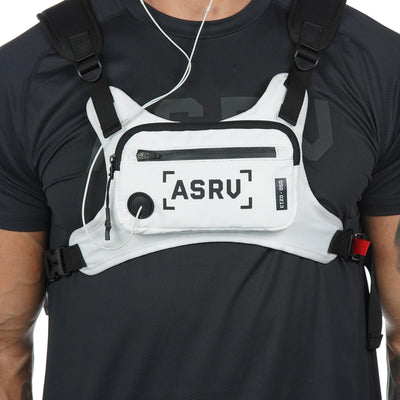 0213. Waterproof Cordura® Conditioning Chest Rig - White
