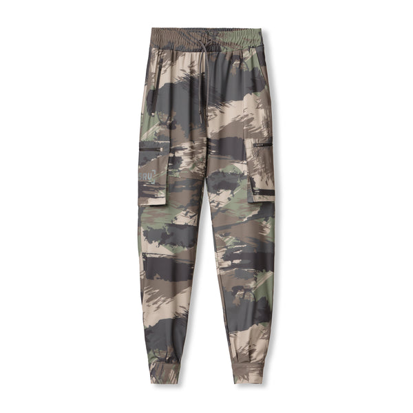 0352. TETRA® Cargo Ankle Snap Jogger - Woodland Brushed Camo