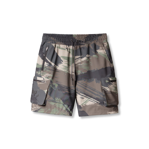 0355. TETRA® Cargo Short - Woodland Brushed Camo