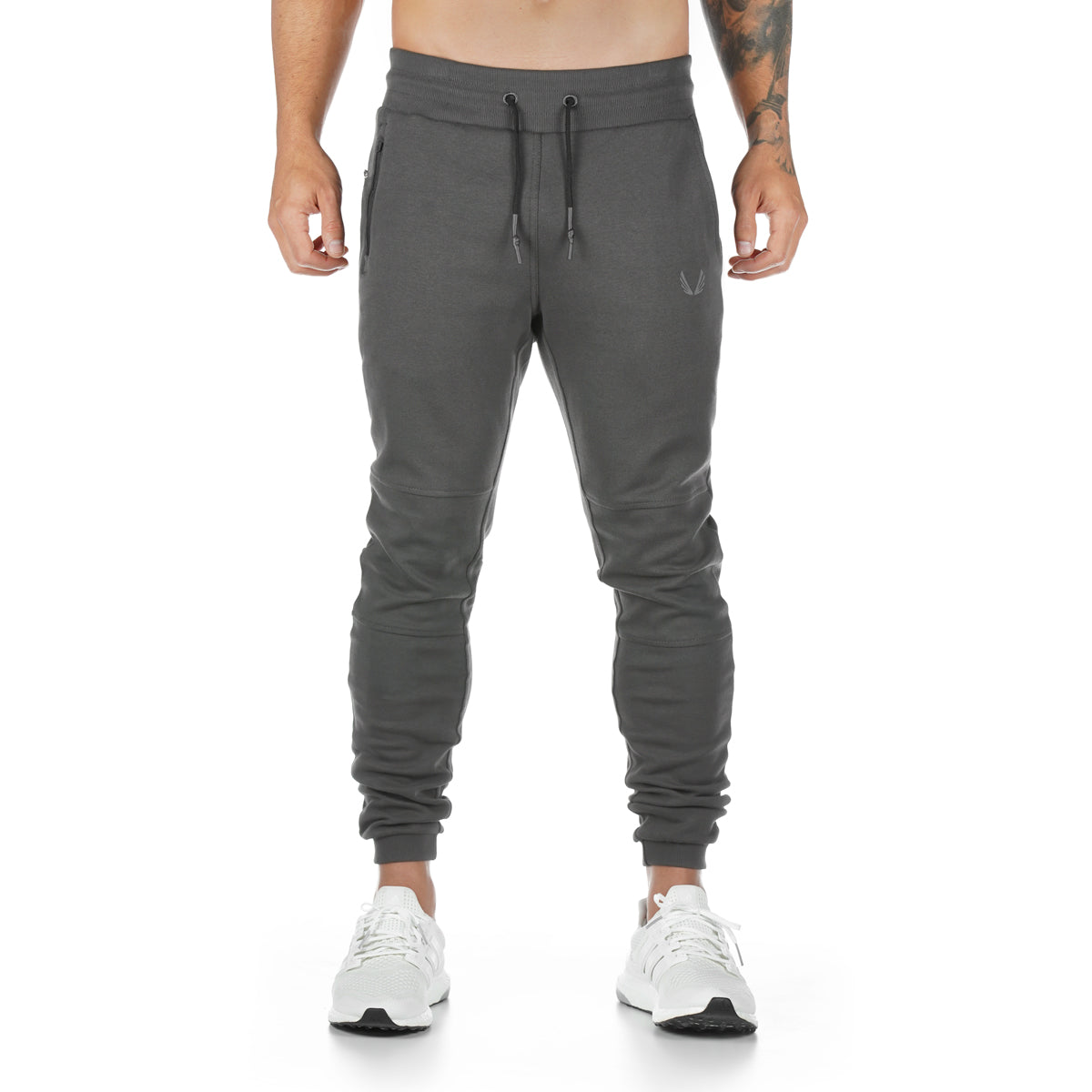 0218. Signature Utility Jogger - Dark Grey